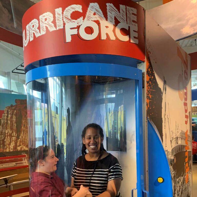 Hurricane Wind Simulator